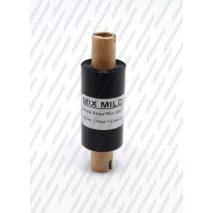 "Риббон MIX MILD (wax/resin) 64мм 74м 1/2"" 110 OUT"
