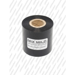 "Риббон MIX MILD (wax/resin) 60мм 300м 1"" 60 OUT"