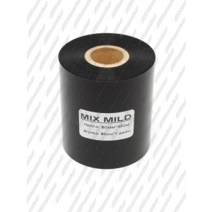 "Риббон MIX MILD (wax/resin) 80мм 450м 1"" 80 OUT"