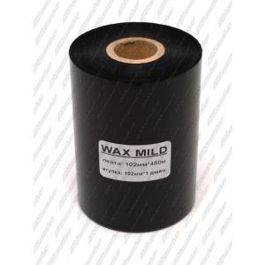 "Риббон WAX MILD 102мм 450м 1"" 102 OUT"