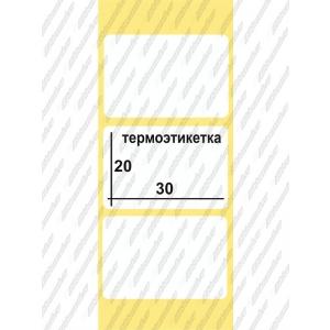 Этикетки ТермоЭко 30 x 20, 2000 шт/рул, втулка  40