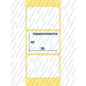 Этикетки ТермоЭко  58 x 40, 700 шт/рул, втулка  40