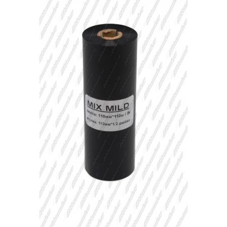 """Риббон MIX MILD (wax/resin) 110мм 110м 1/2"""" 110 IN"""