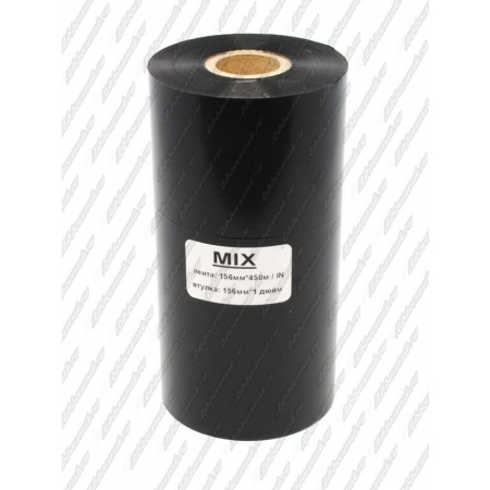 "Риббон MIX MILD (wax/resin) 156мм 450м 1"" 156 IN"