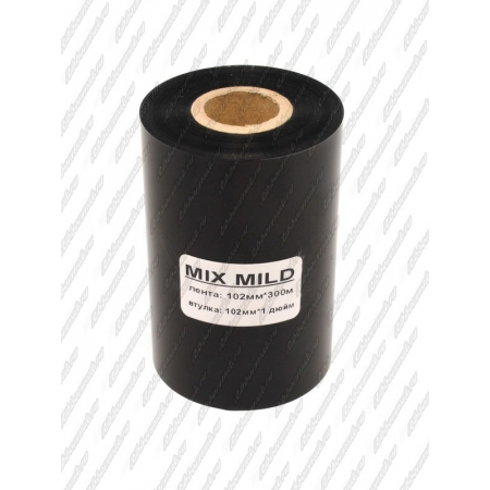 "Риббон MIX MILD (wax/resin) 102мм 300м 1"" 102 OUT"