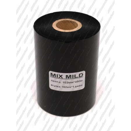 "Риббон MIX MILD (wax/resin) 102мм 450м 1"" 102 OUT"