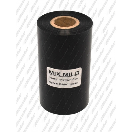 "Риббон MIX MILD (wax/resin) 110мм 300м 1"" 110 IN"