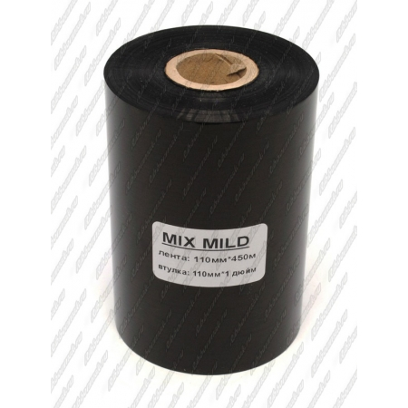 "Риббон MIX MILD (wax/resin) 110мм 450м 1"" 110 OUT"