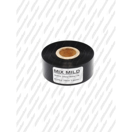 "Риббон MIX MILD (wax/resin) 30мм 450м 1"" 30 IN"