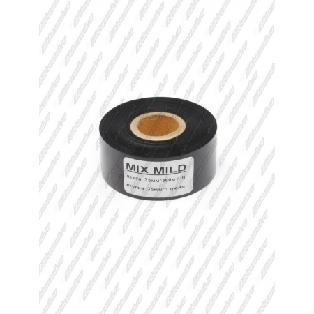 "Риббон MIX MILD (wax/resin) 35мм 360м 1"" 35 IN"