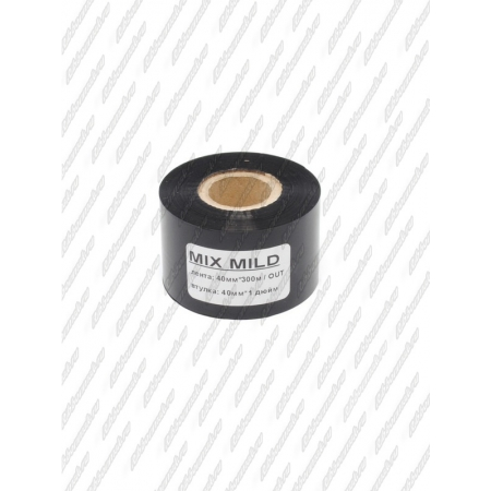 "Риббон MIX MILD (wax/resin) 40мм 300м 1"" 40 OUT"