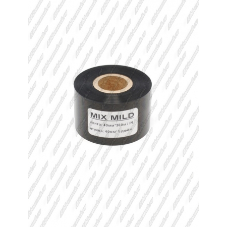 "Риббон MIX MILD (wax/resin) 40мм 360м 1"" 40 IN"