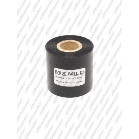 "Риббон MIX MILD (wax/resin) 65мм 300м 1"" 65 OUT"