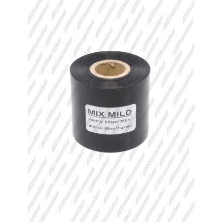 "Риббон MIX MILD (wax/resin) 65мм 360м 1"" 65 IN"