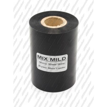 """Риббон MIX MILD (wax/resin) 90мм 360м 1"""" 90 IN"""