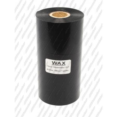 "Риббон WAX MILD 156мм 450м 1"" 156 OUT"