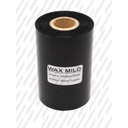 """Риббон WAX MILD 102мм 360м 1"""" 102 IN"""