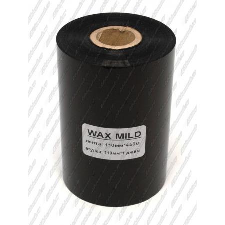 """Риббон WAX MILD 110мм 450м 1"""" 110 IN"""